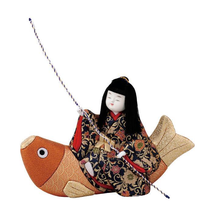 【代引き・同梱不可】01-727 木目込み人形 出世鯉 セット