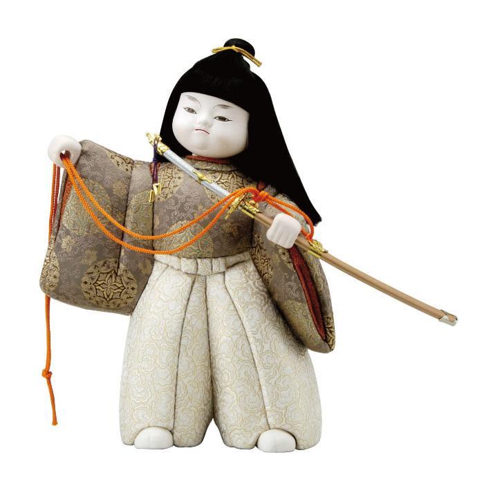 【代引き・同梱不可】01-085 木目込み人形 出世童子 セット