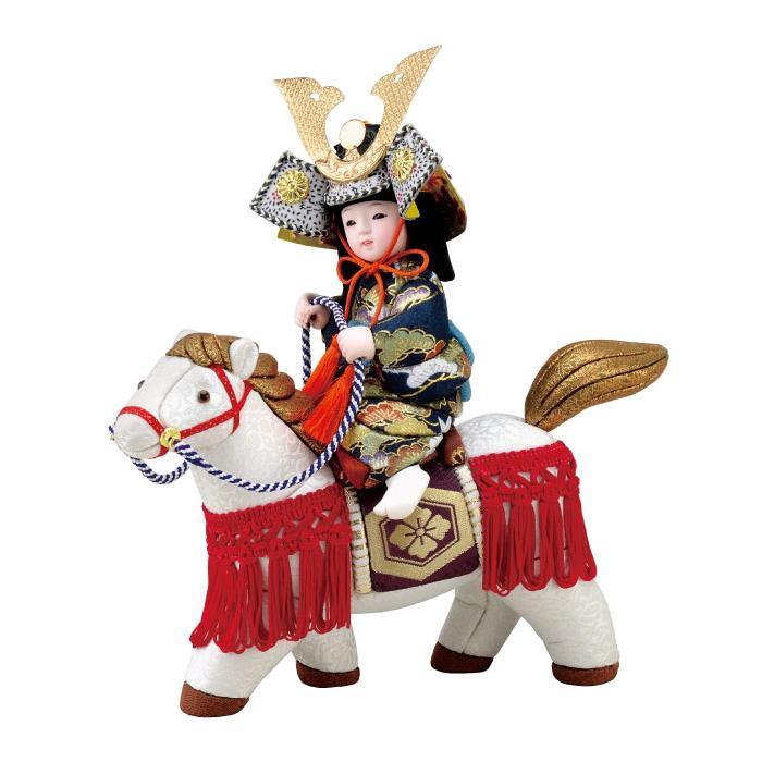 【代引き・同梱不可】01-748 木目込み人形 尚武童子 ボディ