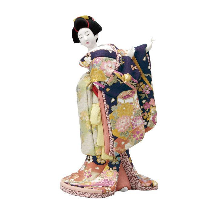 【代引き・同梱不可】01-347 木目込み人形 都の舞 ボディ