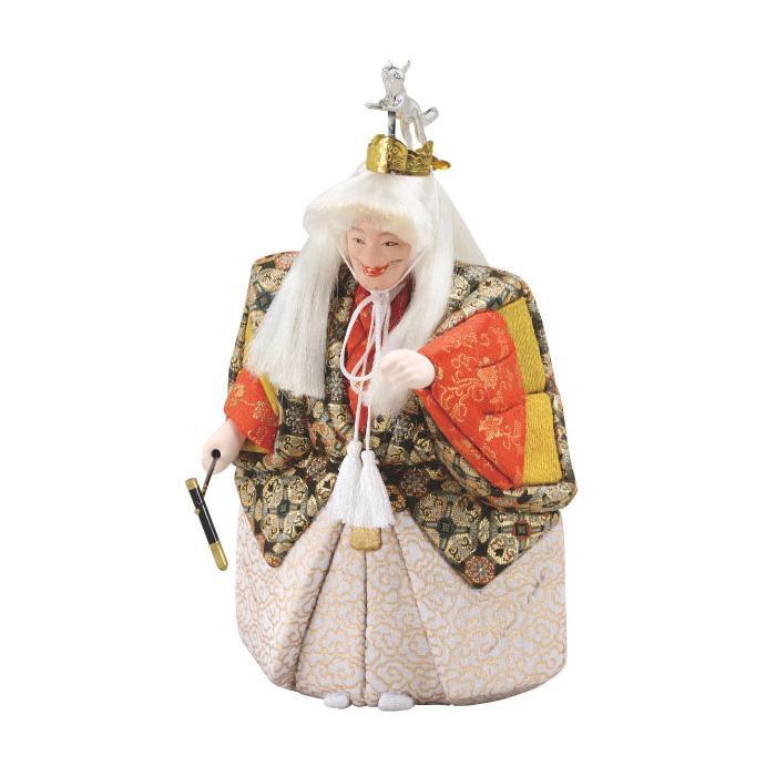 【代引き・同梱不可】01-891 木目込み人形 能小鍛冶 セット