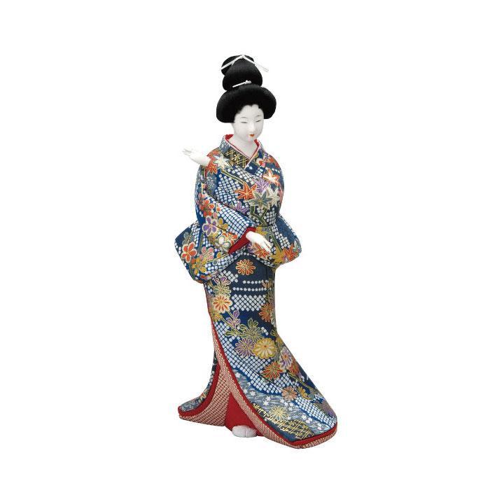 【代引き・同梱不可】01-578 木目込み人形 慕情 セット