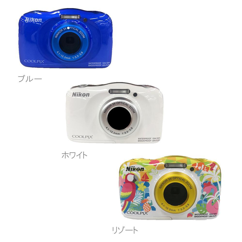 【代引き・同梱不可】ニコン 防水カメラ W150