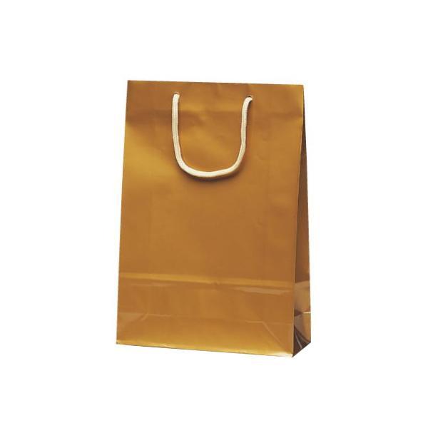 【代引き・同梱不可】ナイスバッグ 手提袋 225×80×320mm 50枚 ゴールド 1158お店 紙手提げ袋 ペーパーバッグ