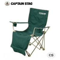【代引き・同梱不可】CAPTAIN STAG CSオートリクライニングチェア(グリーン) M-3884