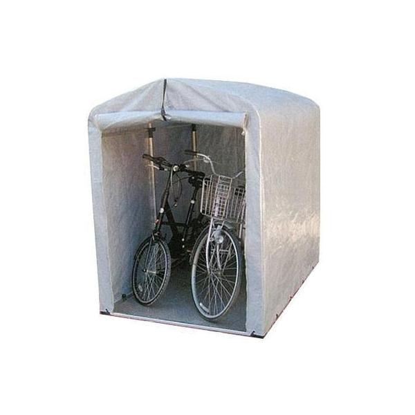 【代引き・同梱不可】簡単組立! アルミフレーム サイクルハウス 高耐久シートタイプ/ミドルタイプ 2.5S-TSV