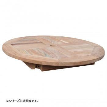 【代引き・同梱不可】コンビネーションテーブル 丸天板0606 36350