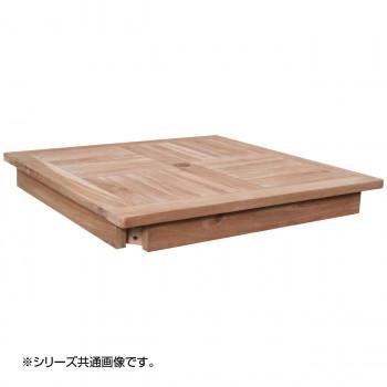 【代引き・同梱不可】コンビネーションテーブル 正方形天板1010 36356