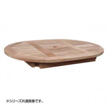 【代引き・同梱不可】コンビネーションテーブル 楕円形天板1207 36367