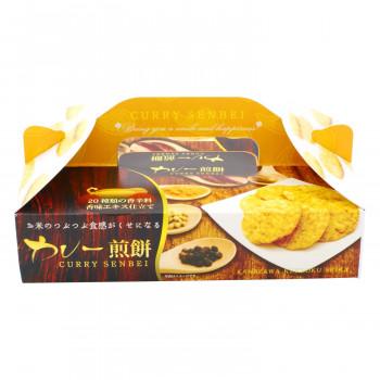 【代引き・同梱不可】金澤兼六製菓 ギフト カレー煎餅BOX 10枚入×40セット CRB-5