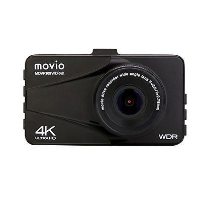 【代引き・同梱不可】movio 大画面ドライブレコーダー MDVR108WDR4K
