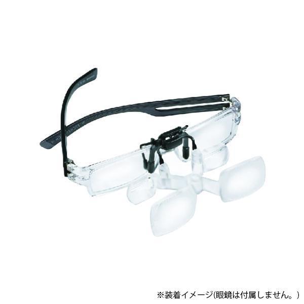 【代引き・同梱不可】エッシェンバッハ MAX DETAIL(マックス ディティール) クリップ 眼鏡用ビュアー(近くを見るとき) 1624-6