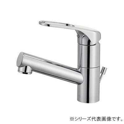 【代引き・同梱不可】三栄 SANEI シングルワンホール洗面混合栓(省施工ナット付) 寒冷地用 K475PJK-U-13