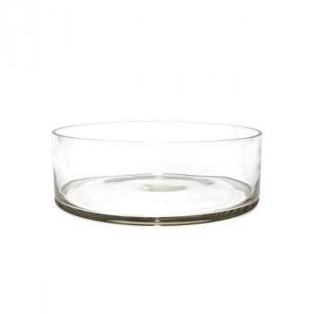 【代引き・同梱不可】Tom円形浅型グラスLL25xH8 2600028