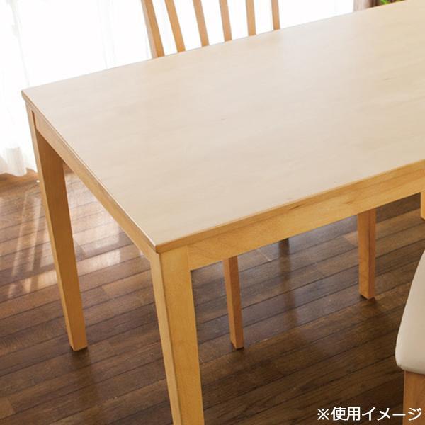 【代引き・同梱不可】貼ってはがせるテーブルデコレーション 90×1500cm TO(半透明) KTC-半透明デスクカバー テーブルクロス クリア