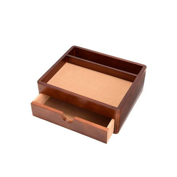 【代引き・同梱不可】茶谷産業 Wooden Case オーバーナイター 020-104オシャレ タブレット 小物入れ