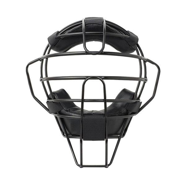 【代引き・同梱不可】球審用マスク プレミアムモデル 硬式・軟式両用 ブラック BX83-74sg 黒 軽量