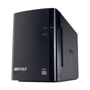 バッファロー ドライブステーション ミラーリング機能搭載 USB3.0用 外付けHDD 2ドライブモデル4TB HD-WL4TU3/R1J【日時指定不可】