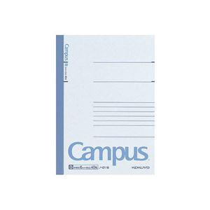 (まとめ)キャンパスノート B6 B罫 40枚 180冊【日時指定不可】