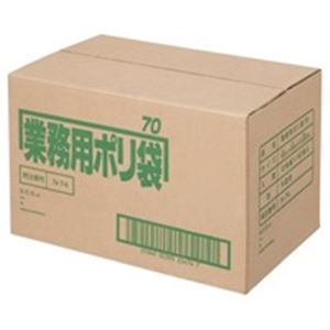 日本サニパック ポリゴミ袋 N-74 半透明 70L 10枚 40組