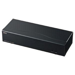 サンワサプライ フルHD対応DVIディスプレイ分配器(4分配) VGA-DVSP4【日時指定不可】