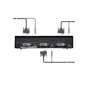 サンワサプライ フルHD対応DVIディスプレイ分配器 2分配 VGA-DVSP2 1台【日時指定不可】