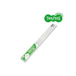(まとめ)TANOSEE 製本テープ 契約書割印用 ホワイト ラベル 35mm×297mm 50枚入×10パック【日時指定不可】