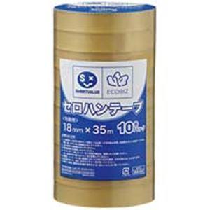 ジョインテックス セロハンテープ18mm×35m200巻 B639J-200【日時指定不可】