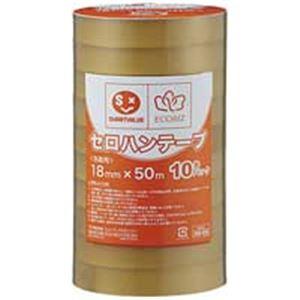 ジョインテックス セロハンテープ18mm×50m200巻 B642J-200【日時指定不可】