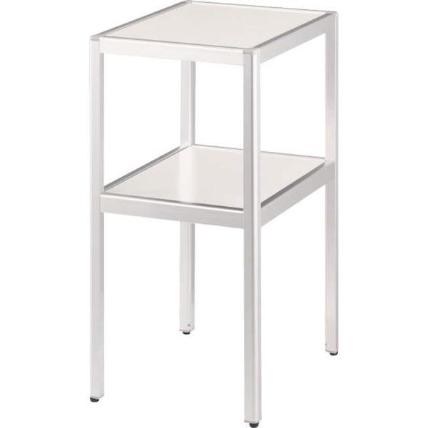 コーナーテーブル CT-350W ホワイト【日時指定不可】