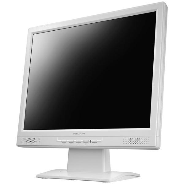 アイ・オー・データ機器 XGA対応 15型スクエア液晶ディスプレイ ホワイト LCD-AD151SEW【日時指定不可】