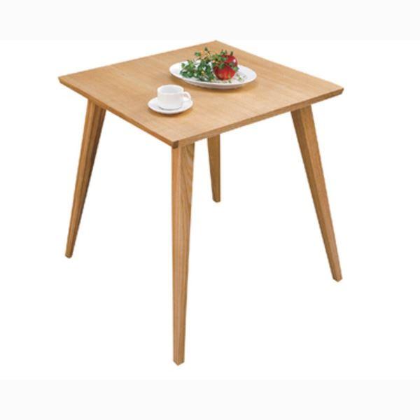 【単品】ダイニングテーブル 【バンビ】 正方形 木製 2人掛けサイズ CL-786TNA ナチュラル【日時指定不可】