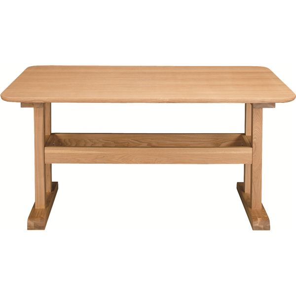ダイニングテーブル 【デリカ】 長方形 木製 4人掛けサイズ HOT-456NA ナチュラル【日時指定不可】