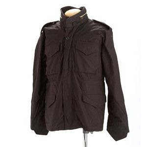米軍 M-65 フィールドジャケット ブラック XS 【 レプリカ 】 【日時指定不可】