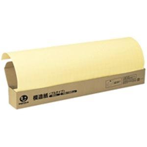 ジョインテックス 方眼模造紙プルタイプ50枚クリームP152J-Y6【日時指定不可】