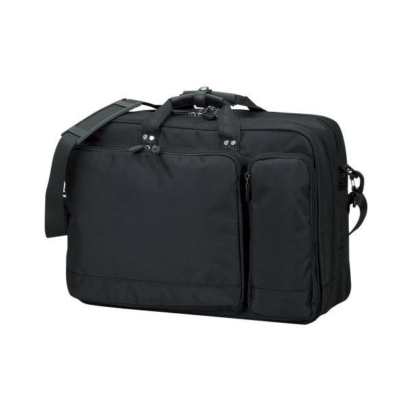 クラウン カジュアルビジネスバッグ CR-BB742-B 黒 1個【日時指定不可】