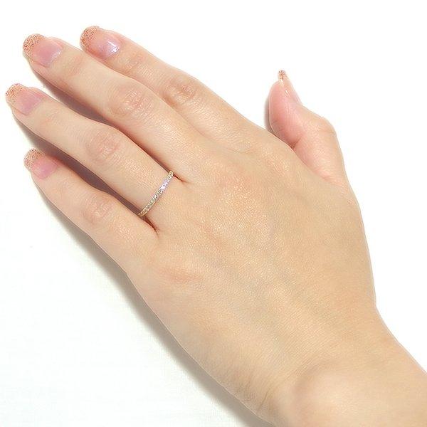 ダイヤモンド リング ハーフエタニティ 0 2ct 9号 K18 イエローゴールド ハーフエタニティリング 指輪 日時指定不可Y7fb6gvy