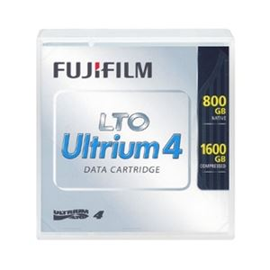 【重要】12月23日17時以降のご注文は、年明けの発送となる場合がございます。予めご了承くださいますようお願い申し上げます。 富士フィルム(FUJI)(メディア) LTO Ultrium4 テープカートリッジ 800/1600GB 5巻パック(お買得品) LTO FB UL-4 800G UX5【日時指定不可】