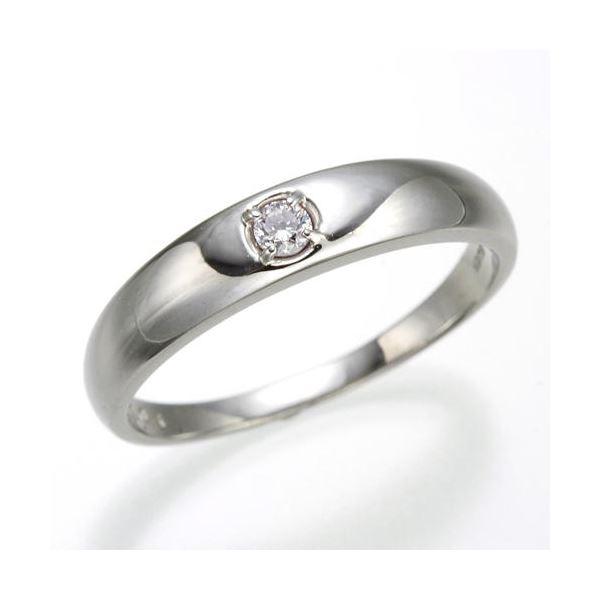 0.05ctピンクダイヤリング 指輪 ストレート 21号【日時指定不可】