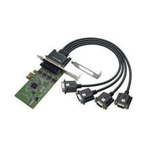 ラトックシステム 4ポート RS-232C・デジタルI/O PCI Expressボード REX-PE64D【日時指定不可】