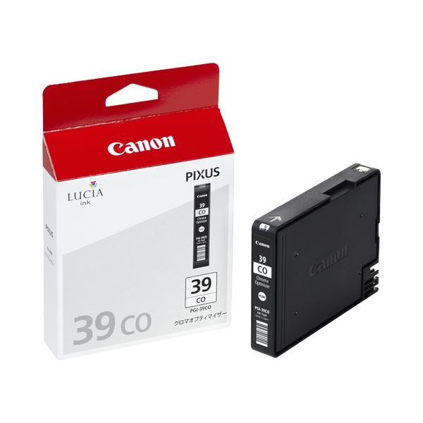 (まとめ) キヤノン Canon インクタンク PGI-39CO クロマオプティマイザー 4867B001 1個 【×3セット】【日時指定不可】