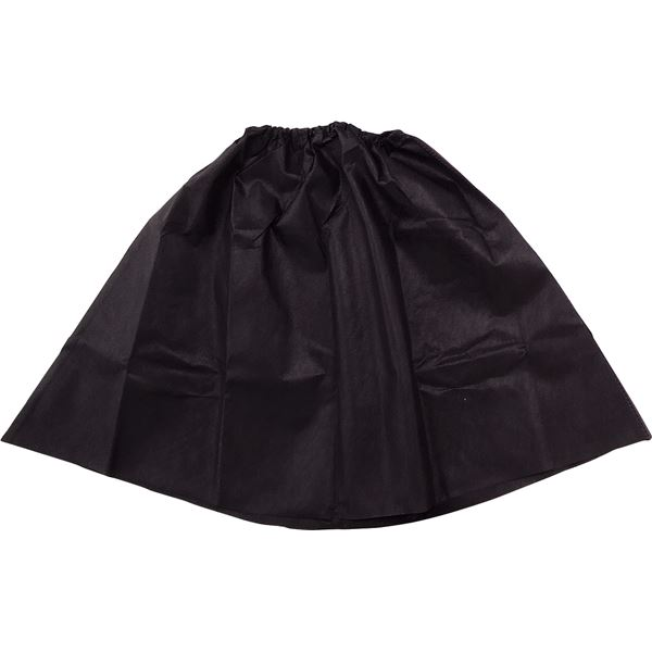 (まとめ)アーテック 衣装ベース 【マント・スカート】 不織布 ブラック(黒) 【×15セット】【日時指定不可】