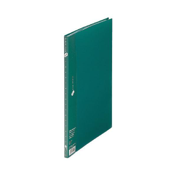 (業務用10セット) プラス クリアーファイル10P FC-121EL A4S 緑 10冊