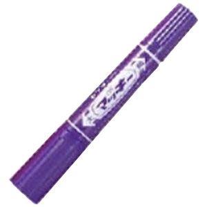 (業務用200セット) ZEBRA ゼブラ 油性ペン/ハイマッキー 【太字・細字/紫】 MO-150-MC-PU【日時指定不可】