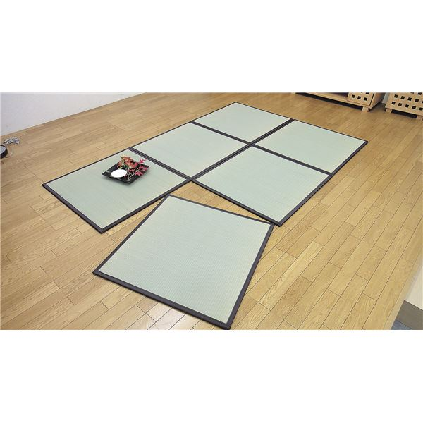 純国産ユニット畳 3畳(6枚)164×248cm【代引不可】【日時指定不可】