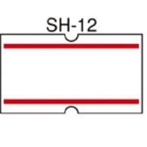 (業務用30セット) ニチバン ラベル Sho-Han用 赤2本線 10巻【日時指定不可】