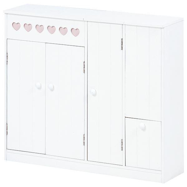 トイレラック/トイレ収納棚 【幅60cm】 木製 可動棚付き ホワイト(白) 【完成品】【代引不可】【日時指定不可】