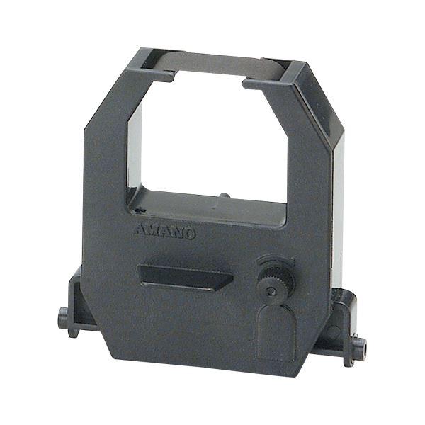 (業務用セット) アマノ インクリボン CE-315150 黒 1個入 【×5セット】【日時指定不可】