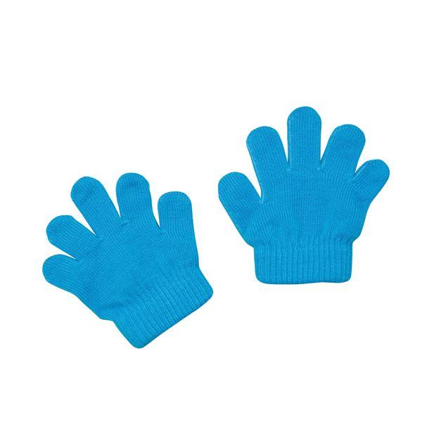 (まとめ)アーテック ミニのびのび手袋 【幼児~子供用サイズ】 アクリル製 ブルー(青) 【×40セット】【日時指定不可】