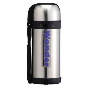 ワンダーボトル/水筒 【1.5L】 保温・保冷 コップタイプ 大容量サイズ ステンレス真空断熱構造【日時指定不可】